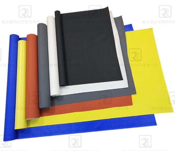藍色納米防火布/防火苫布/電焊焊接防火布/硅膠布