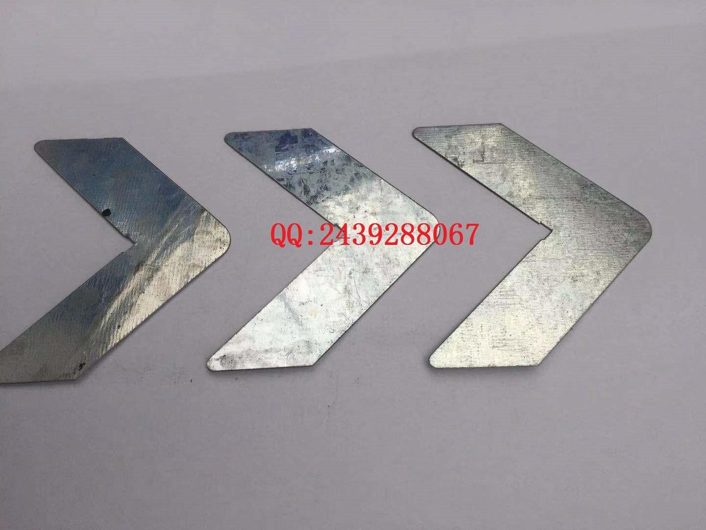 酚醛复合板风管加强护角暖通镀锌加强包角铁三角五金件