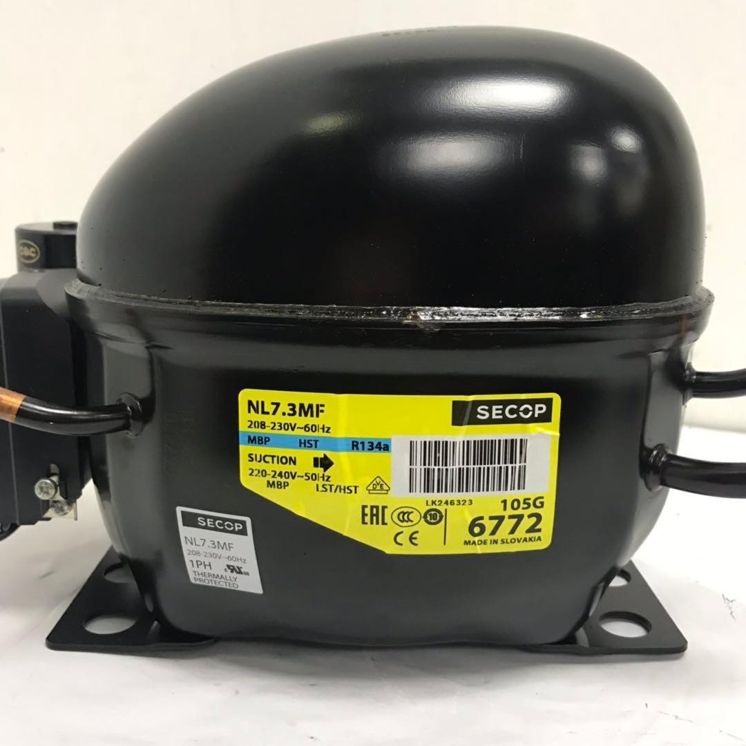 丹佛斯NL7.3MF压缩机  R134a制冷剂