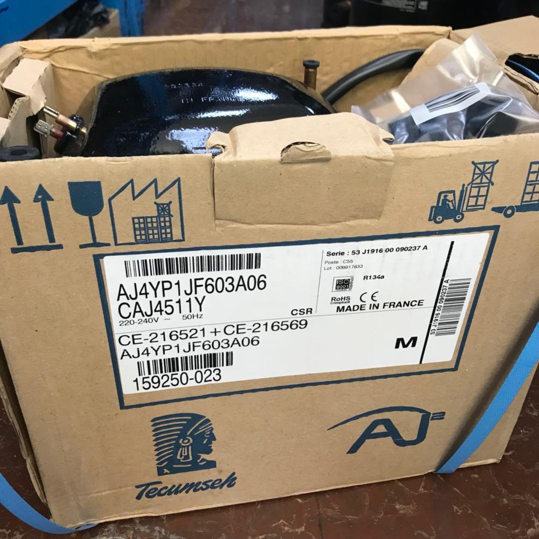 泰康CAJ4511Y压缩机  R134a制冷剂