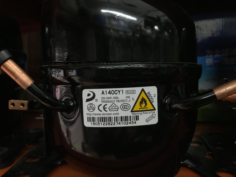 东贝高效型A140CY1压缩机  R600a制冷剂