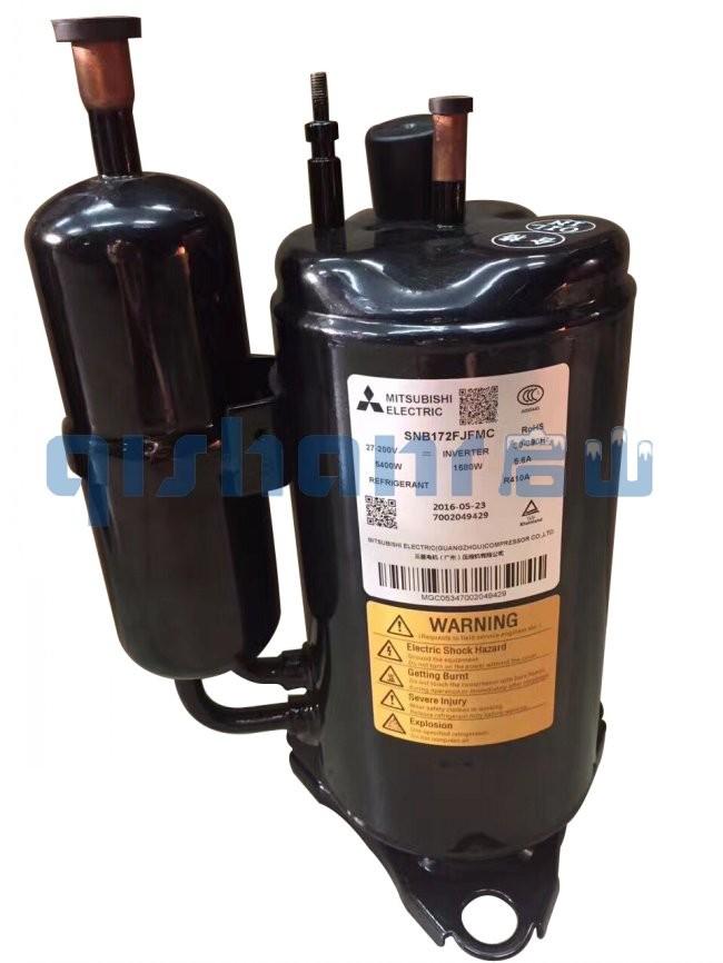 三菱空调变频压缩机ANB42FBEMT 5P R410 带回油管