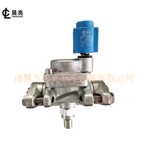 氨氟通用活塞型电磁阀CVRA25 接口 19,25,32 铁法兰