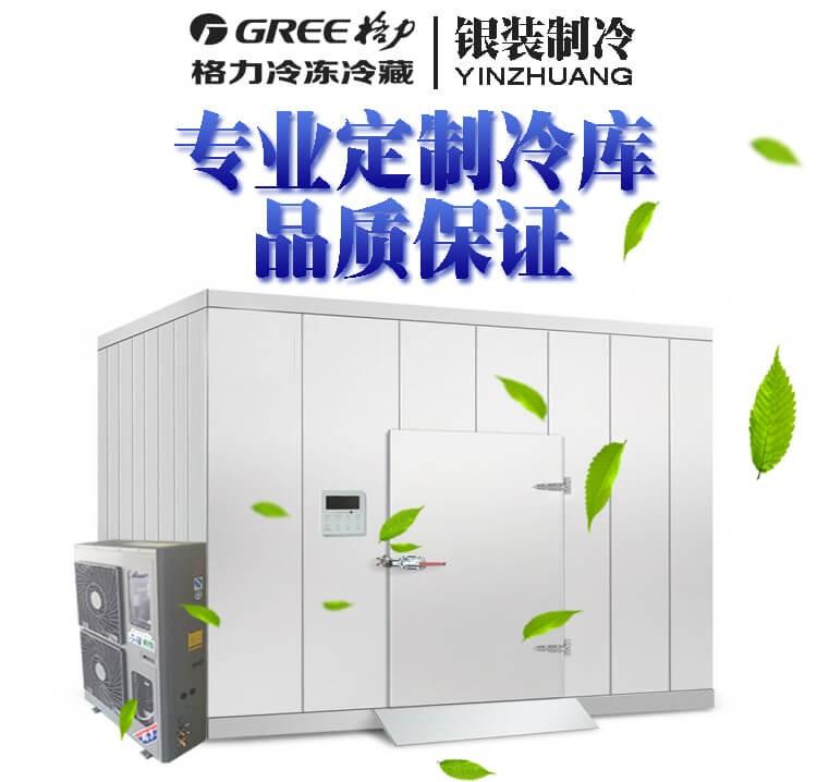 银装制冷格力冷链冷库全套设备制冷机组