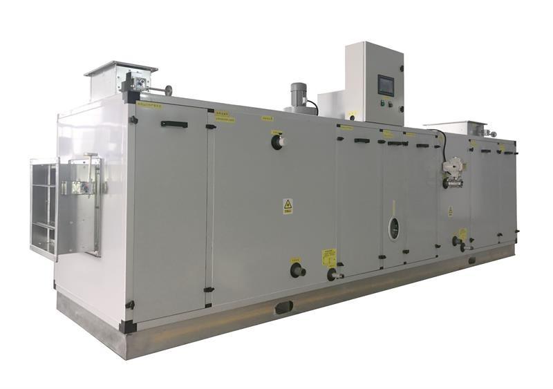 低温低露点锂电池转轮除湿机组整体设计方案