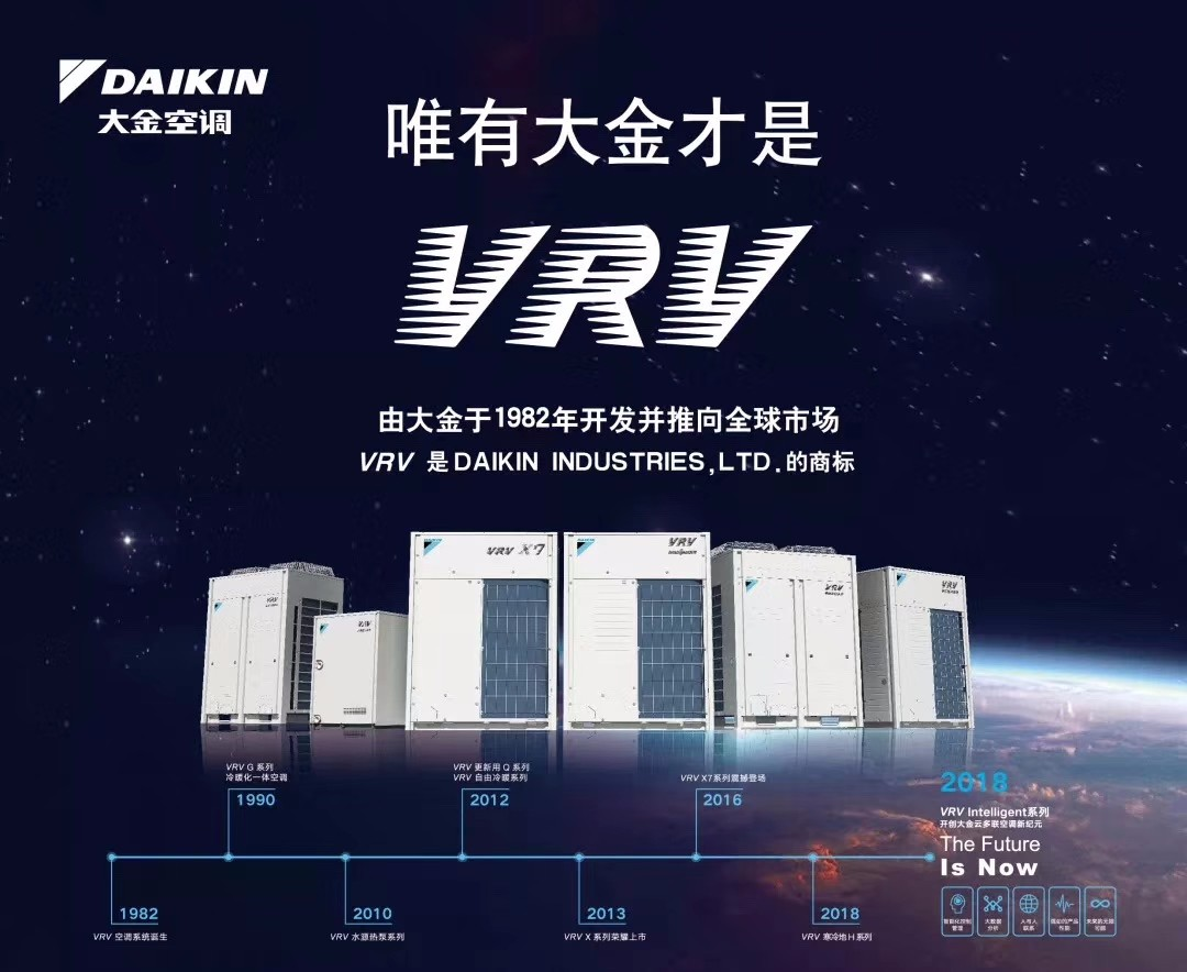 大金VRV全直流变频中央空调    大金VRV多联机组   大金中央空调