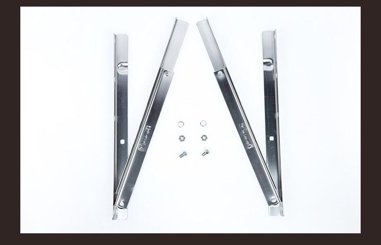 东豪1~3P普通不锈钢空调支架