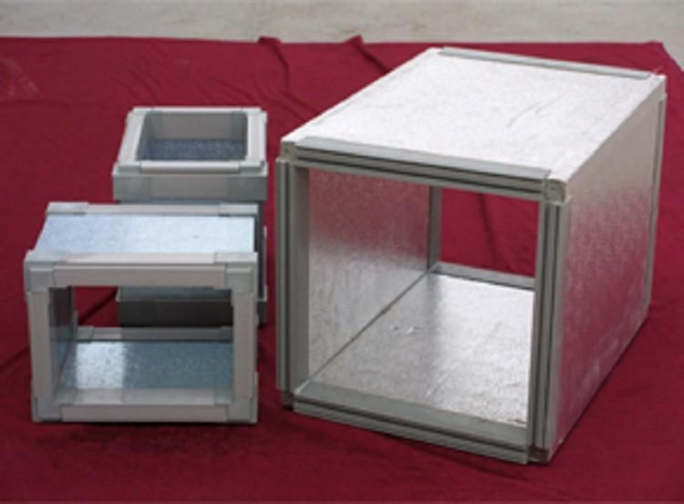 改性型绞制纤维钢面压花酚醛复合风管板