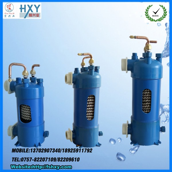 140大PVC外壳钛热交换器