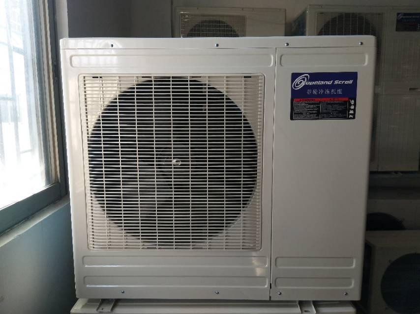 3匹成套小型冷库设备 风冷冷库机组 艾默生谷轮压缩机组