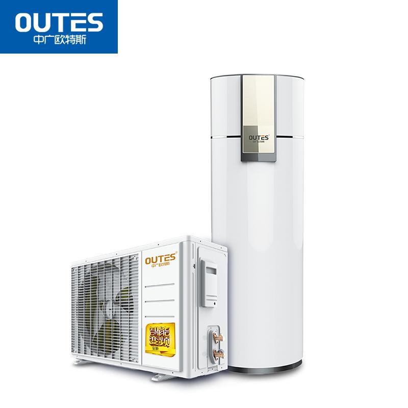 中广欧特斯(outes)空气能热水器 家用分体 飞天变频王系列 220L