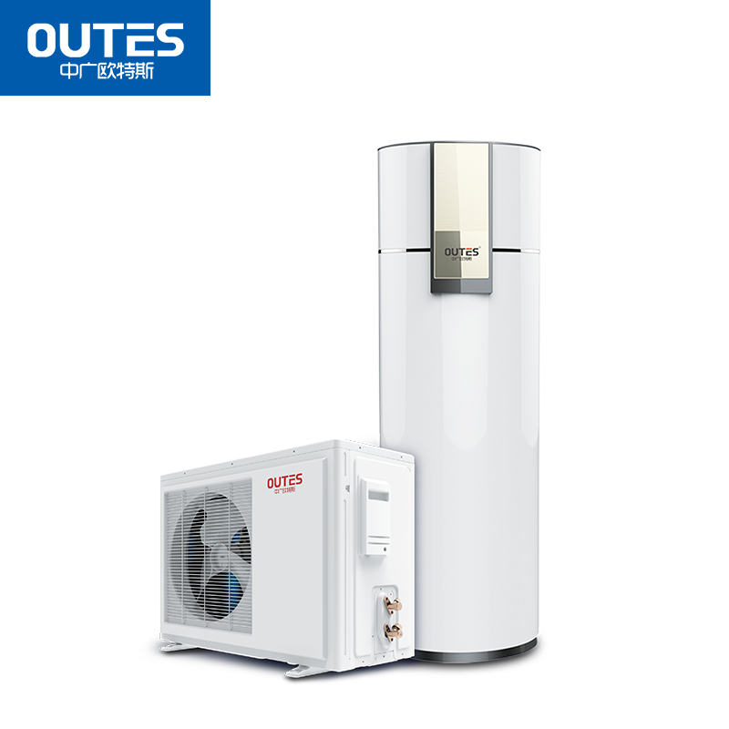 中广欧特斯(outes)空气能热水器 家用分体 飞天系列 160L