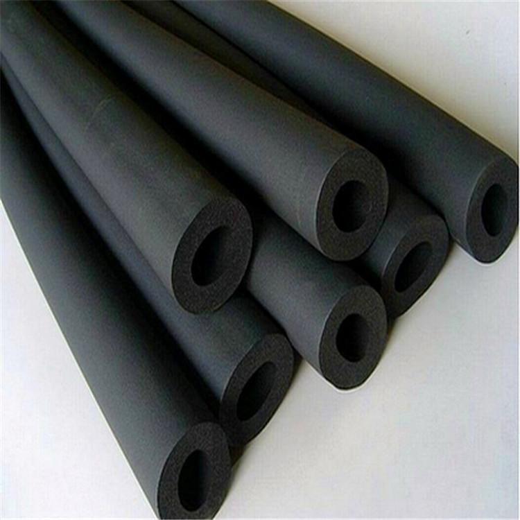 供应福乐斯b1级橡塑海绵管空调管道隔热阻燃绝缘闭孔式橡塑保温管