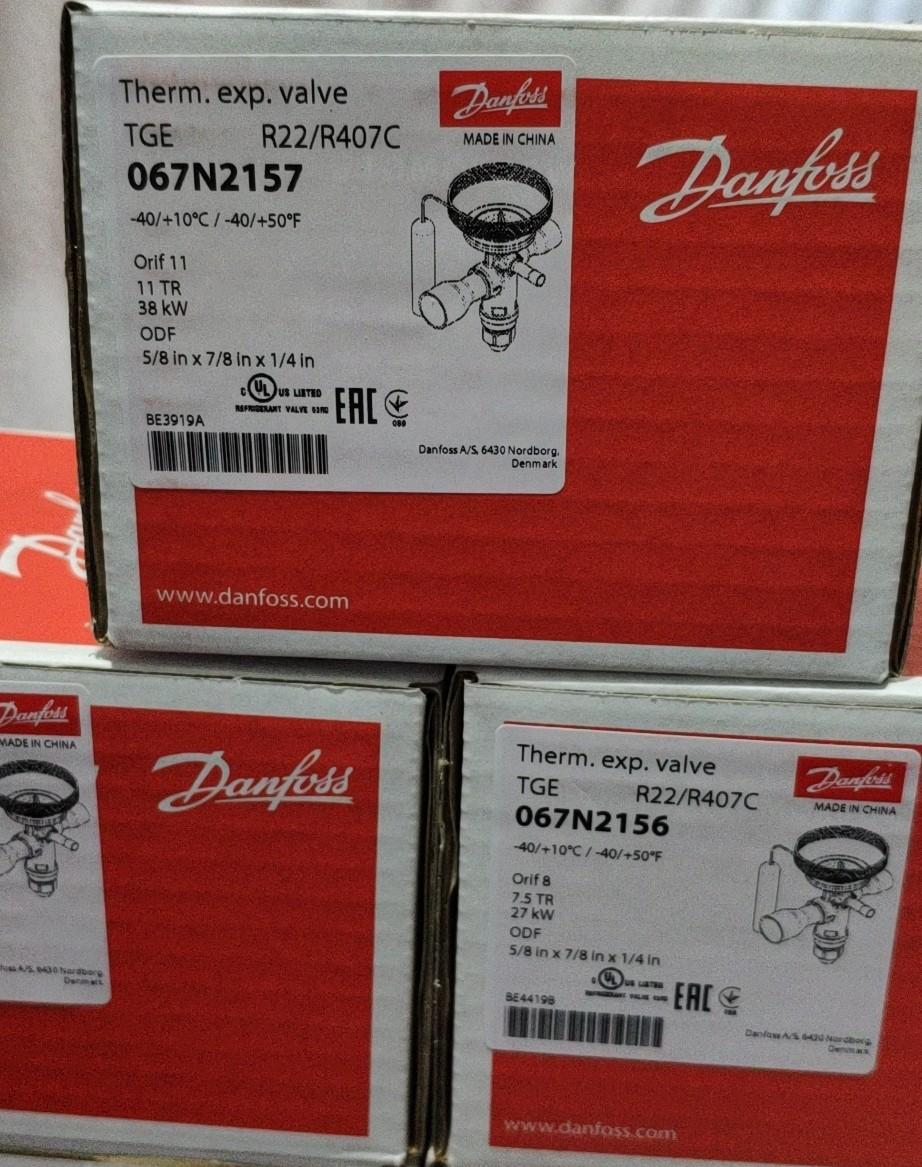 丹佛斯膨胀阀 TGEX11 067N2157