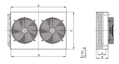 FNH型冷凝器