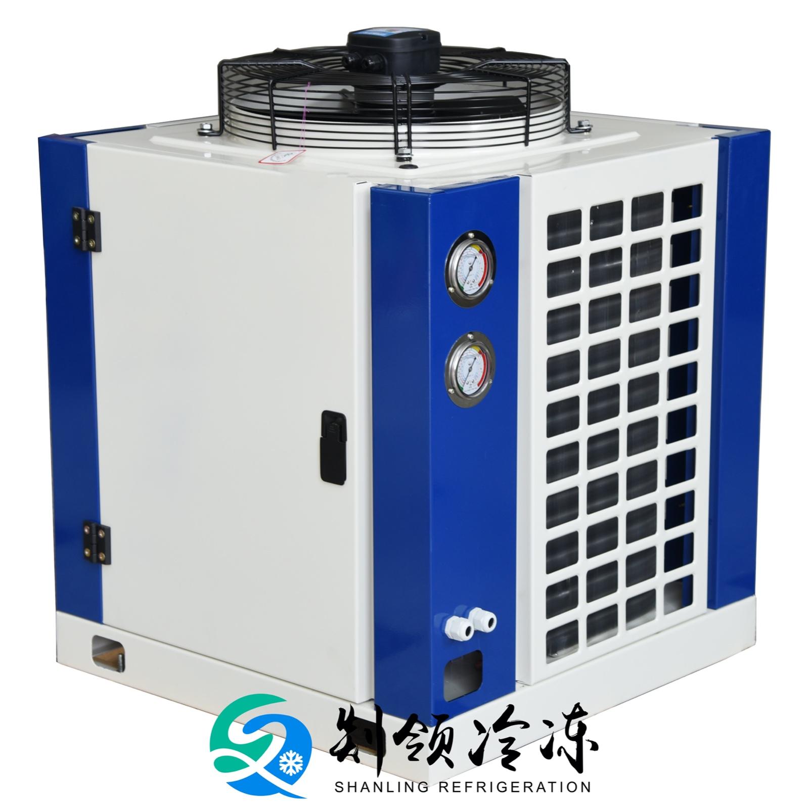 铜管铝翅片箱体式冷凝器 表冷器 散热器空气源换热器FNU-18.1/55