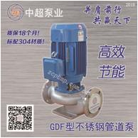 GDF不锈钢管道泵 GDF80-21