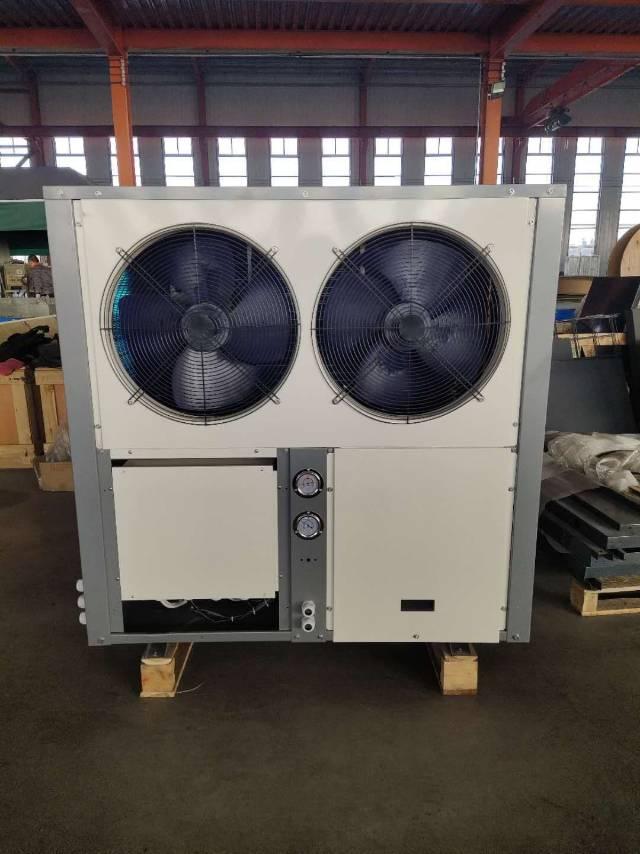 山东纳新地源热泵空气源热泵直膨机套管式换热器