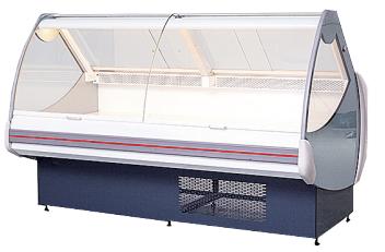 欧款熟食柜一体机,分体机