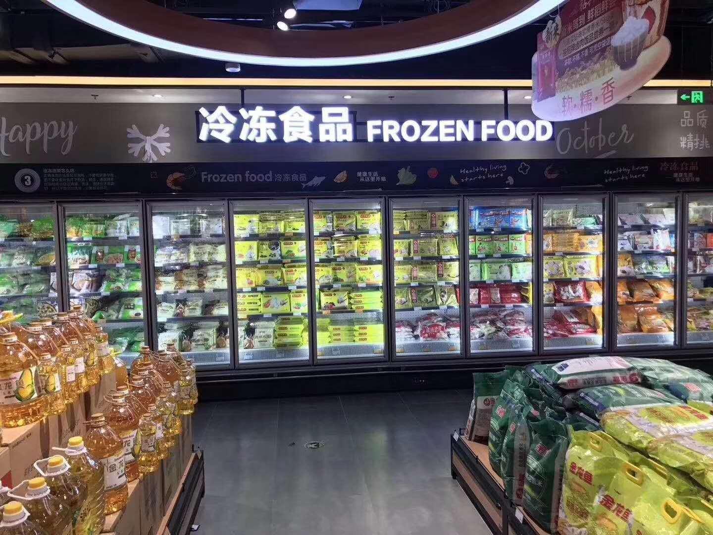 武汉新冻力立式冷冻柜