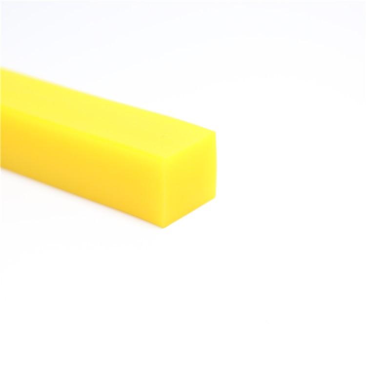矩形实心耐高温硅胶密封条
