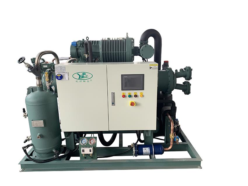 低温40HP螺杆单机水冷机组