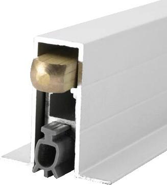 厂家门底自动伸缩升降密封防尘隔音胶条明装安装都可以简约大气隔音节能