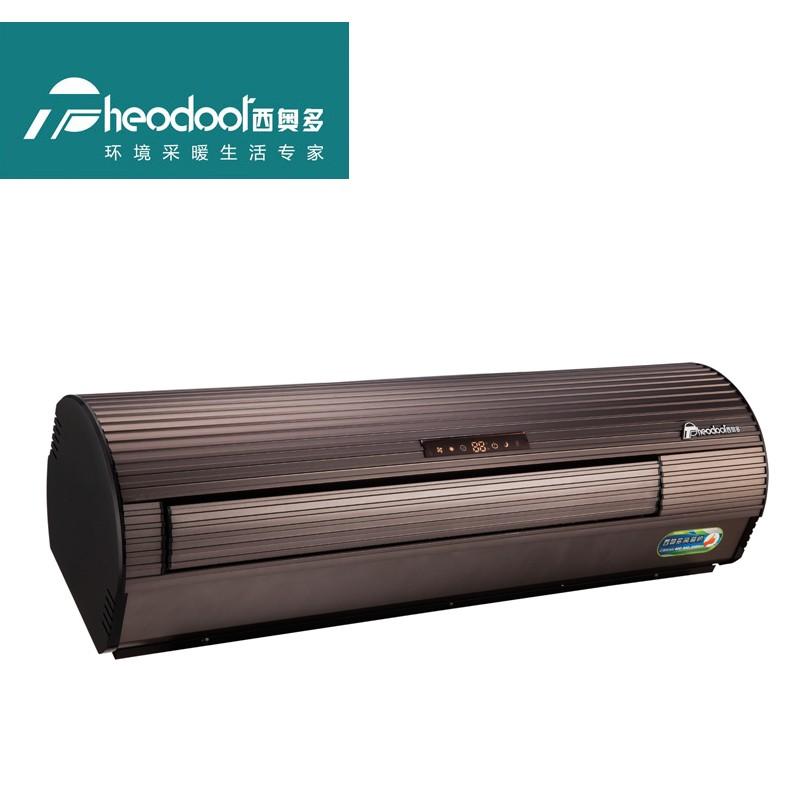 西奥多电暖空调壁挂式暖风机家用办公商用取暖器PTC加热器遥控