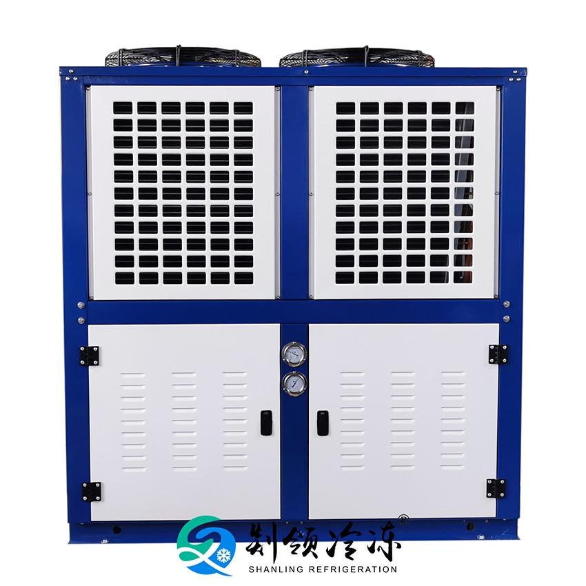 风冷冷凝器 铜管铝翅片表冷器 换热器 制冷压缩机散热器