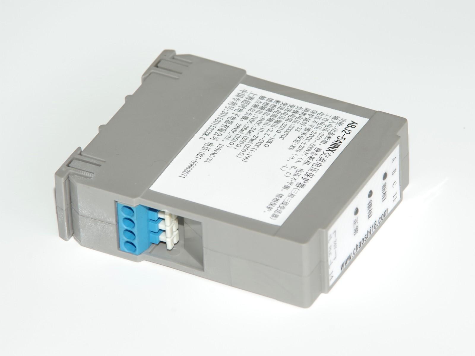上海超时电子电器 ABJ2-5□W三相三线交流变送器 相序保护器