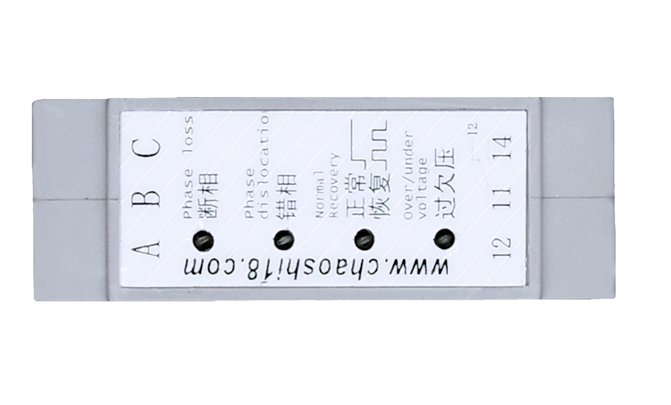 上海超时电子电器 ABJ2-94W 三相五线交流电压保护器 相序保护器
