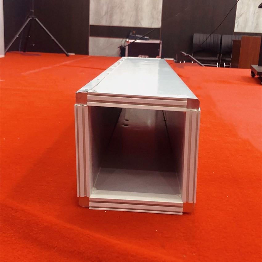 壹强中央空调风管直管异型变径三通四通单双面彩钢酚醛复合