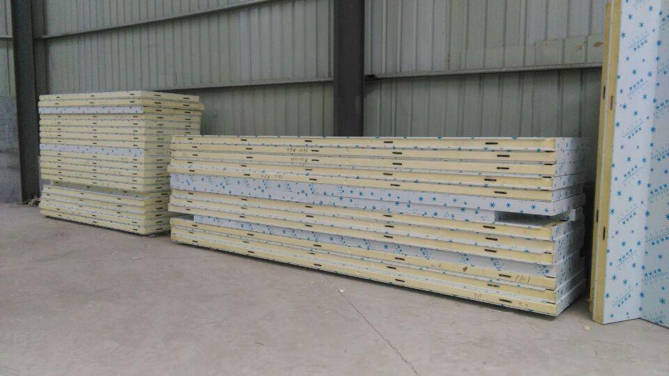 聚氨酯冷库板保鲜库100mm 150mm冷冻库速冻库低温冷库保温材料