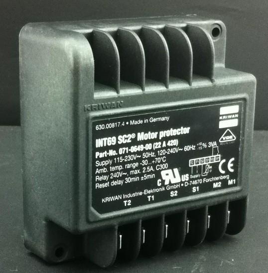 SE-B1压缩机保护模块(可用比泽尔八角等压缩机)