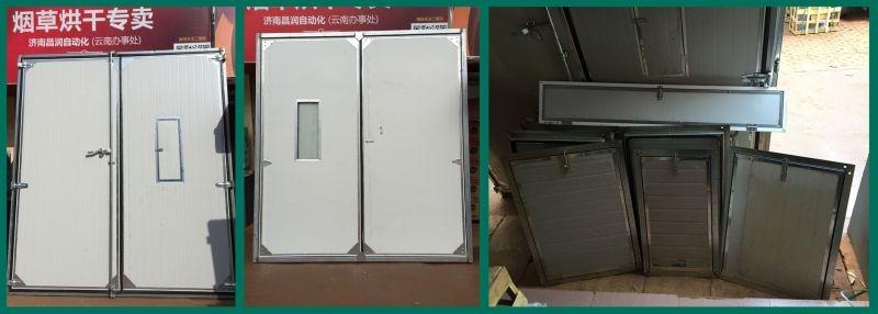 密集烤房电烤房门窗左右清门 维修门 观察窗