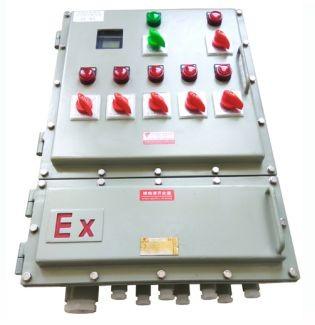 工厂安防专用电器仪表开关防爆配电控制箱