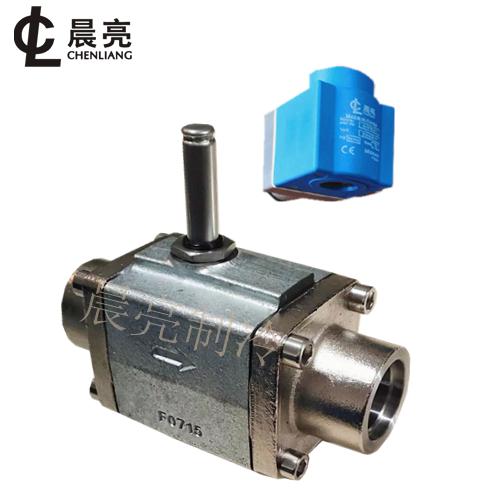 内插款钢法兰活塞式电磁阀 CVRA32