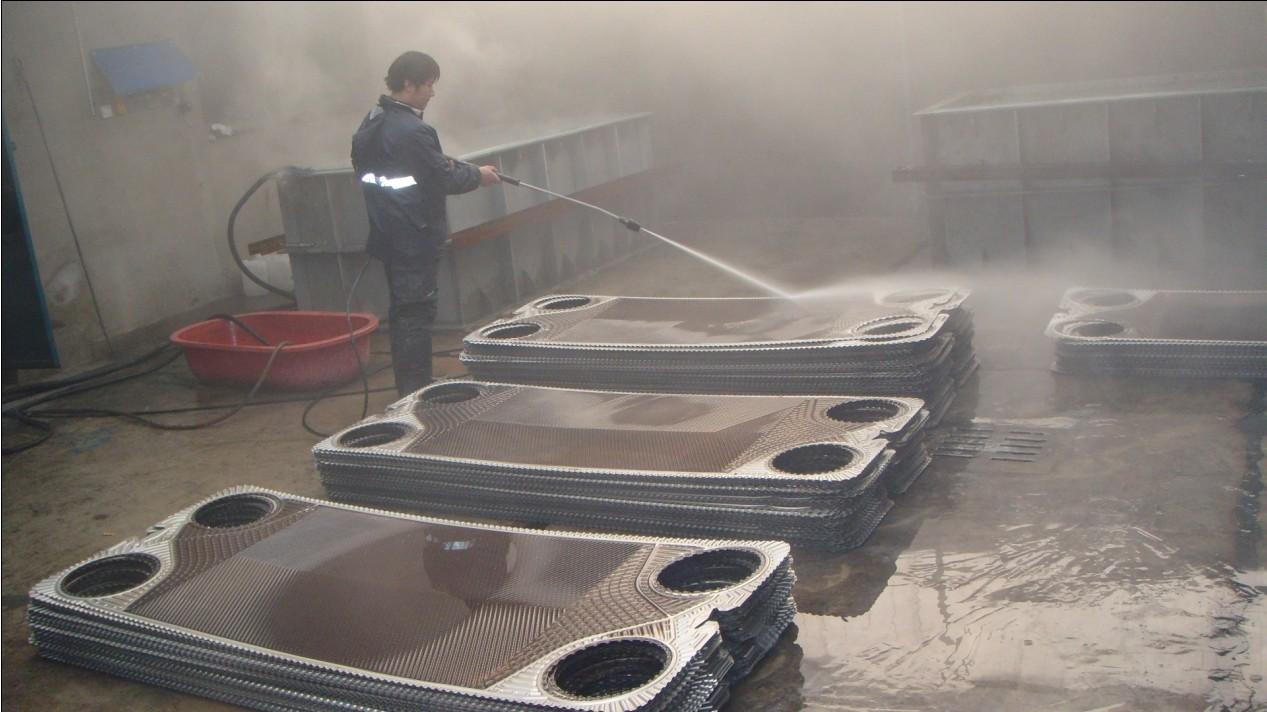 山西太原换热器清洗,板式换热器维修