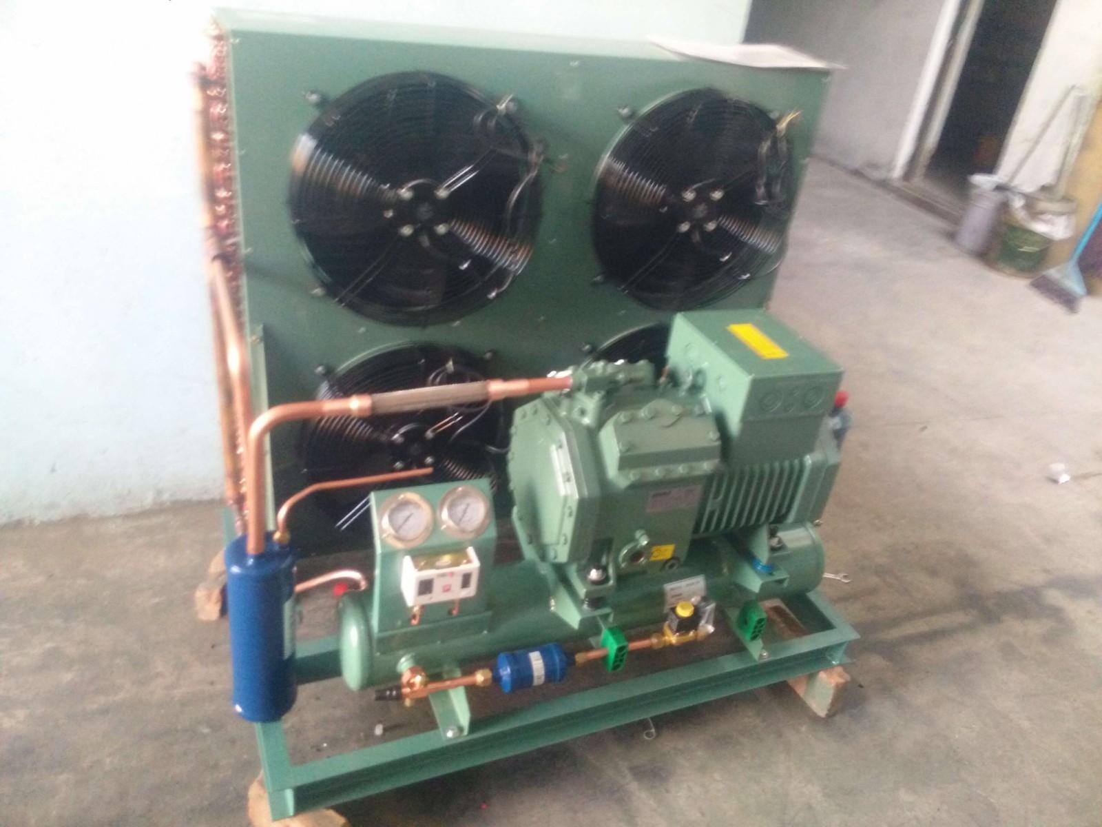 比泽尔制冷压缩机4VCS-6.2/4VES-7Y 6P7匹冷库制冷保鲜冷冻机组