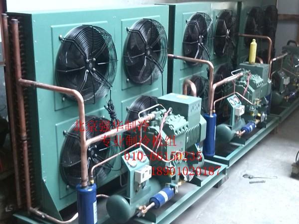 比泽尔制冷压缩机4PCS-10.2/4PES-12Y 10匹冷库制冷保鲜冷冻机组