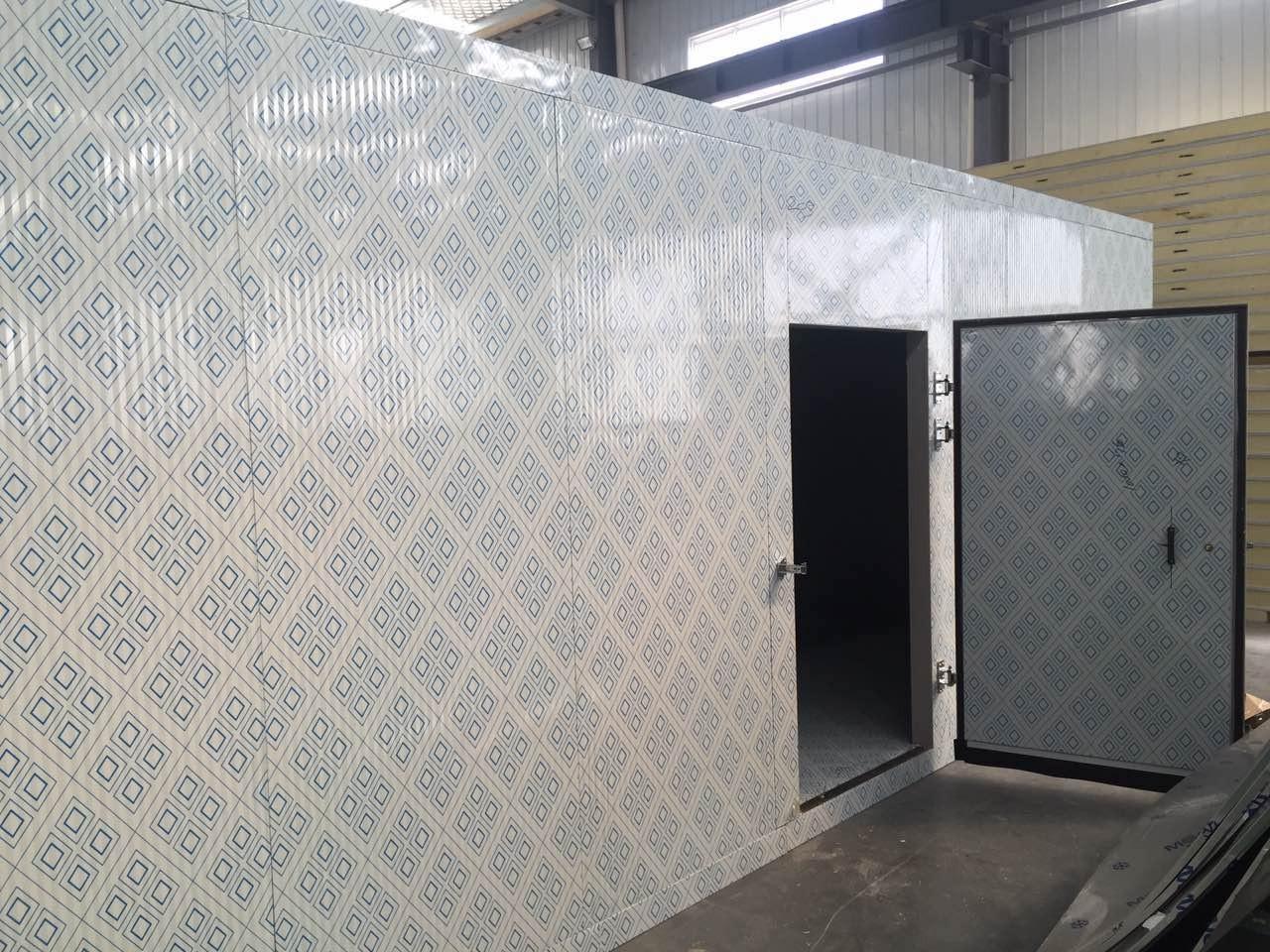 冷库保温板 聚氨酯复合彩钢夹芯冷库板 不锈钢隔热冷库板