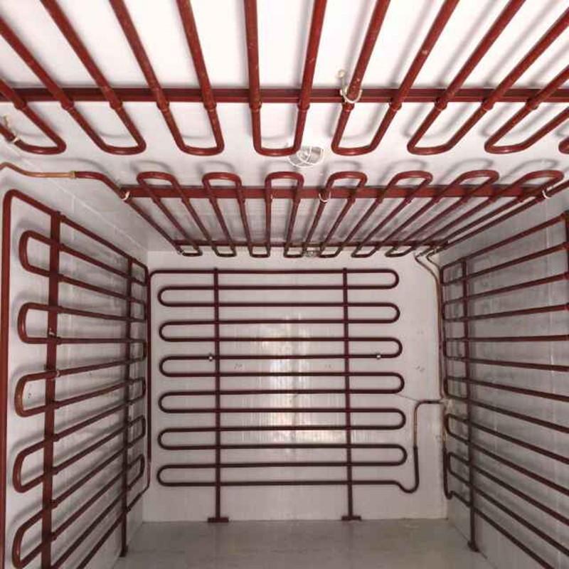 生产加工制冷管道 冷库管道制冷设备用无缝钢管 酸洗钝化无缝钢管除锈喷漆