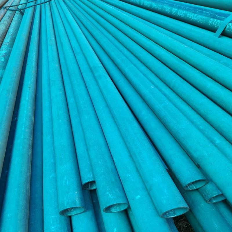 冷库专用酸洗磷化钝化无缝钢管除锈喷 钝化无缝钢管