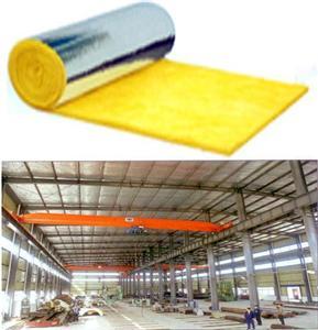 钢结构玻璃棉毡保温