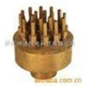 铜可调三层花喷头,减振系统