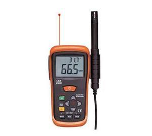 CEM带红外测温湿度计DT-616CT