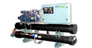 天津地热尾水水源热泵机组