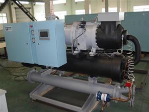 水冷低温-15度螺杆冷水机