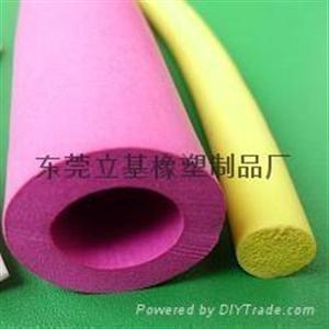 硅胶发泡管,发泡硅胶管