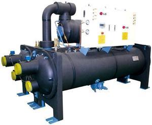 螺杆式水(地)源热泵